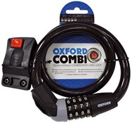 Oxford Combi15 Combination Cable Lock