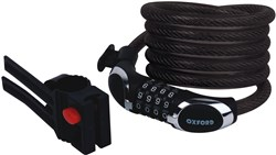 Product image for Oxford Viper12 Cable Combination Lock