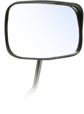 Oxford Deluxe Oblong Mirror + Refl/Shield