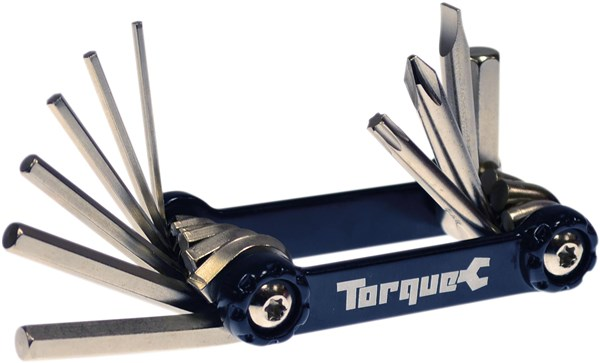 Torque Compact 10 Alumium Folding Cycle Multi Tool