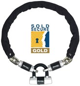 Criterion High Security Chain With Mini D Lock Hardened Steel Sold Secure Gold