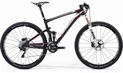 Merida Big Ninety Nine Carbon SL 3000D Mountain Bike 2014 - Full Suspension MTB