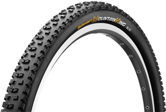 Continental Mountain King II RaceSport Black Chili 29er MTB Folding Tyre