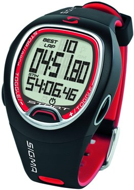 Sigma SC 6.12 Stop Watch and Lap Counter Sports Wrist Watch