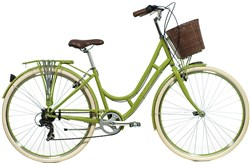 Raleigh Cameo Green Womens 2016 - Hybrid Classic Bike