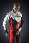 Red Trieste Design Wind Cycling Jacket 2014