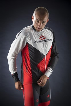 Image of Merida Red Trieste Design Wind Cycling Jacket 2014