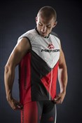 Red Trieste Design Wind Cycling Vest 2014