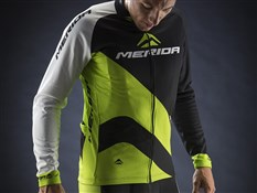 Green Race Design Long Sleeve Cycling Jersey 2014