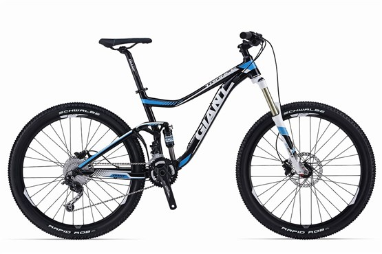 Trance 27.5 4 Mountain Bike 2014 - Full Suspension MTB at Tredz Bikes