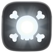 Product image for Knog Blinder 1 Skull USB Rechargeable Front Light