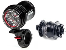 Exposure Revo Dynamo Front Light With Dynamo Hub