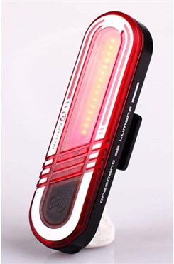 Image of Moon Crescent USB Rechargeable Rear Light