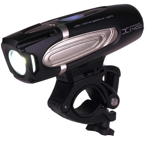 Moon X Power 400 Rechargeable Front Light