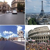 Real Life Video Training City Trips Rome & Paris