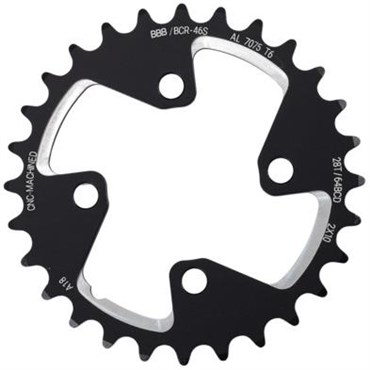 Image of BBB BCR-46S - MTB Gear Shimano XT 2x10 64BCD - MTB Chain Ring