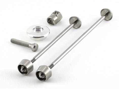 Image of Pitlock 3 Piece Security Skewer Set For Front and Rear Wheels and Headset
