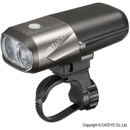 Cateye Volt 1200 Rechargeable USB Front Light