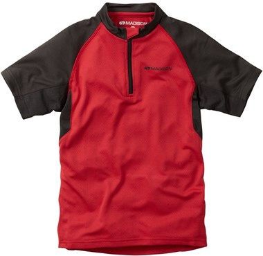 Image of Madison Tracker Kids Short Sleeve Cycling Jersey