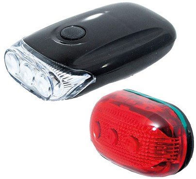 Raleigh RX9.0S 3 Led Front & 5 Led Rear Light Set