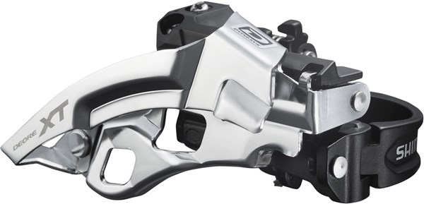 Image of Shimano FD-M780-A XT 10 Speed Triple Front Derailleur Top Swing Dual-Pull