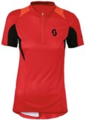 Sky 10 Womens Short Sleeve Cycling Jersey