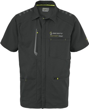 Scott Factory Team Zip Short Sleeve Shirt