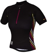 Spot Womens Short Sleeve Cycling Jersey 2014