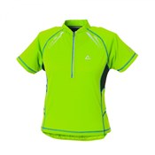 Dare2B Youth Outcome Short Sleeve Cycling Jersey