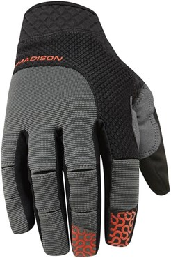 Image of Madison Flux Mens Long Finger Cycling Gloves AW16