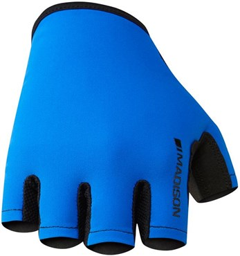 Image of Madison Track Mens Mitts Short Finger Cycling Gloves AW16