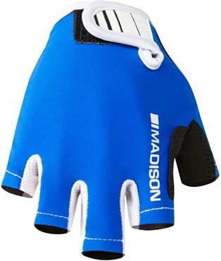 Image of Madison Kids Tracker Mitts Short Finger Cycling Gloves AW16
