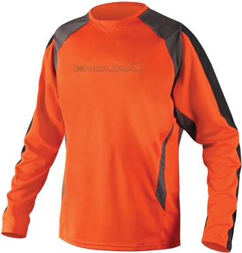 Image of Endura MT500 Burner II Long Sleeve Cycling Jersey SS16