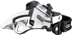 FD-M610 Deore 10 Speed Triple Front Derailleur, Top Swing, Dual-Pull