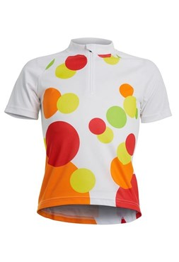 Polaris Spot Girls Short Sleeve Cycling Jersey