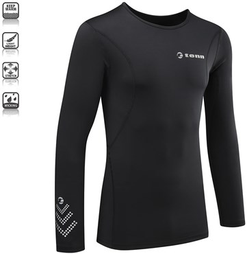 Image of Tenn Compression Fit Long Sleeve Base Layer SS16