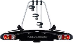Thule 929 EuroClassic G6 3-bike Towball Carrier AcuTight Torque Knobs 13-pin