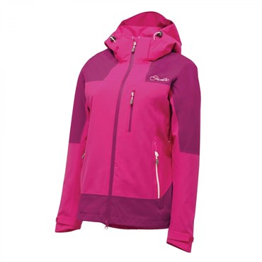 Dare2B Stratify Outdoor Womens Windproof Cycling Rain Jacket