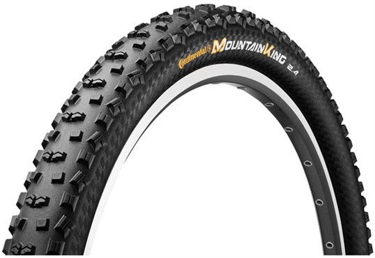 Image of Continental Mountain King II ProTection 26 inch Black Chili Folding Off Road MTB Tyre