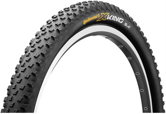Image of Continental X King RaceSport 26 inch Black Chili Folding Off Road MTB Tyre