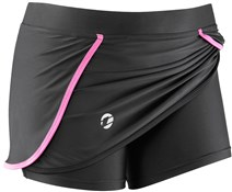 Womens Pace Padded Cycling Skorts