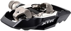 Product image for Shimano XTR MTB SPD Trail Pedals - PD-M9020 Wide Platform Two-sided Mechanism