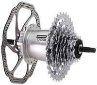 SRAM DualDrive3 Hub Disc Brake 135OLD with Spoke Protector