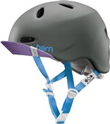 Product image for Bern Berkeley Zipmold Womens Cycling Helmet with Flip Visor 2015