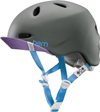 Bern Berkeley Zipmold Womens Cycling Helmet with Flip Visor 2015
