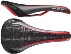 SDG Bel Air 2.0 Solid Ti-Rail Saddle