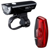 Volt 100 / Rapid X USB Rechargeable Light Set