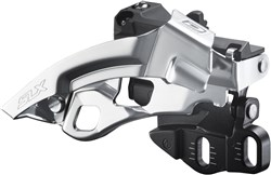 Product image for Shimano SLX 10-speed Triple Front Derailleur  Dual Pull E-type FDM670A