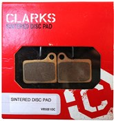 Product image for Clarks Shimano Deore Hydraulic Disc Brake Pads Sintered
