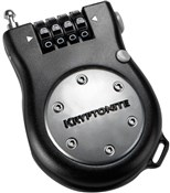 Product image for Kryptonite R2 Retractor Pocket Combo Cable Lock